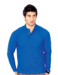 Longsleeve Polo Shirt (Sizes XS-2XL = 36-48)